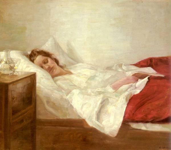 Holsoe Carl Asleep